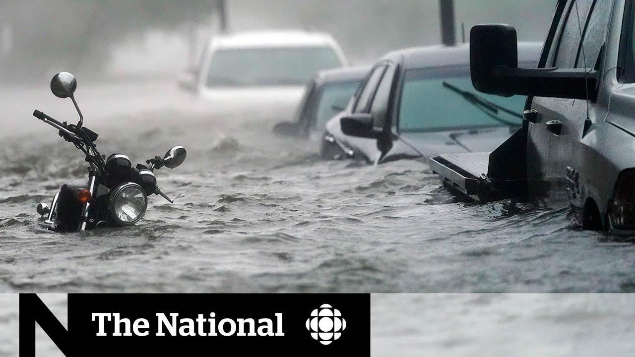Hurricane Sally slams into U.S.Gulf Coast