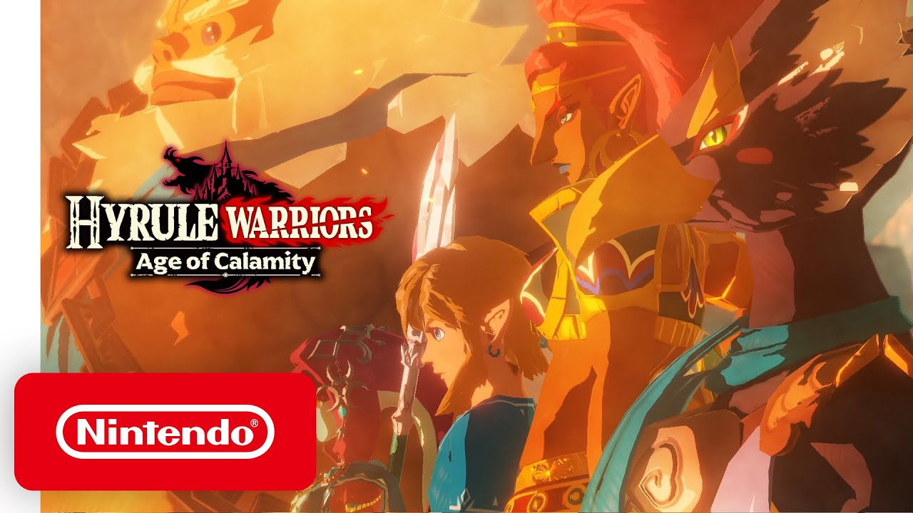 Hyrule Warriors: Age of Calamity – Announcement Trailer – Nintendo Switch