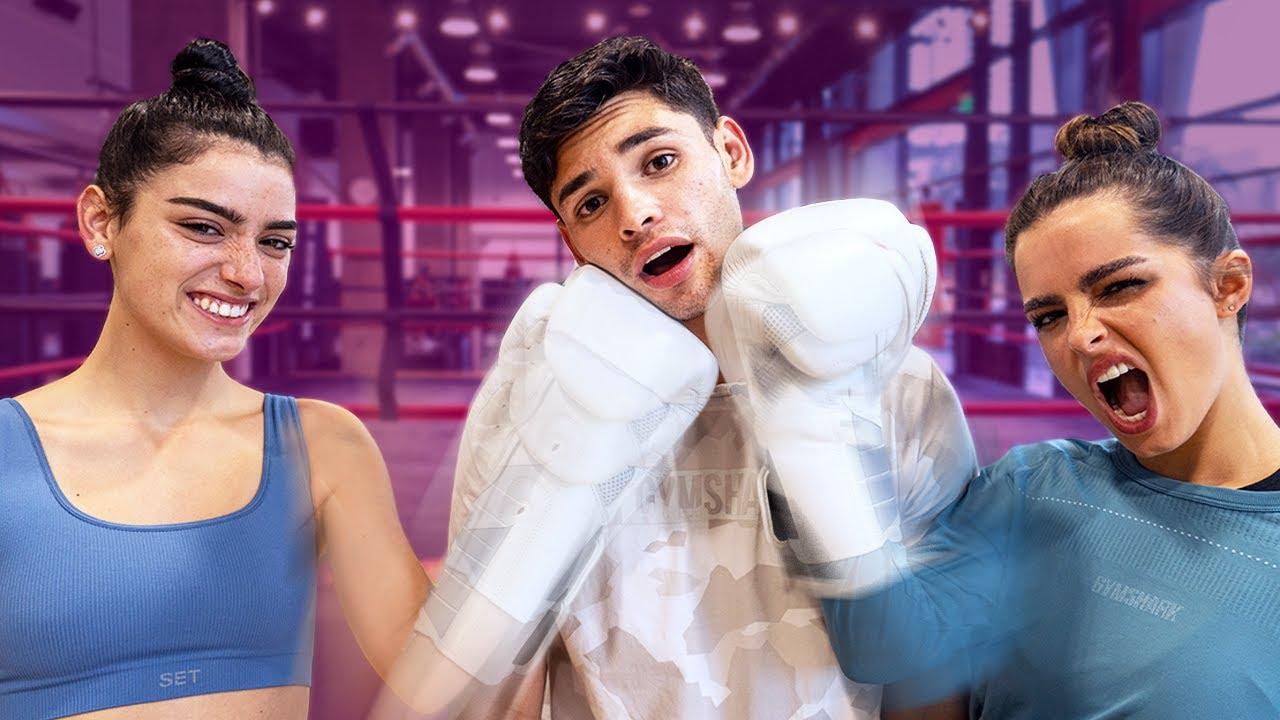 I Taught @Dixie D'Amelio and @Addison Rae How To Box | Ryan Garcia Vlogs