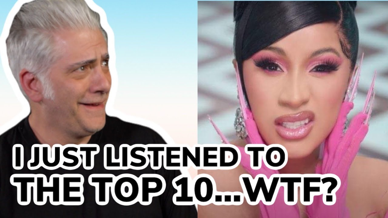 I just listened to the Top 10 on Spotify…WTF?