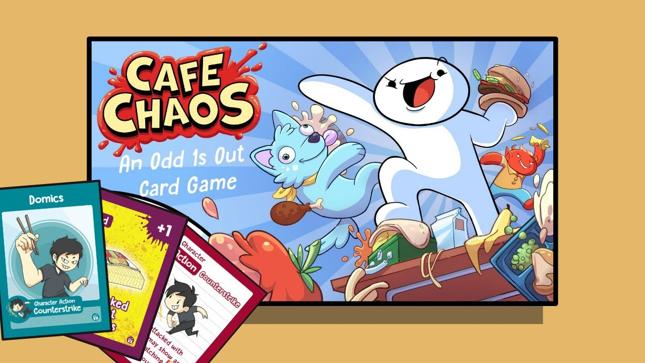 I'm in the Cafe Chaos card game!