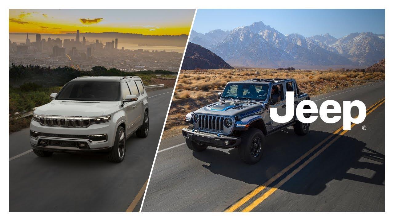 Jeep®   Grand Wagoneer & Wrangler 4xe   Reveal