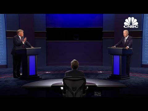 Joe Biden and President Trump discuss Covid-19 in first debate
