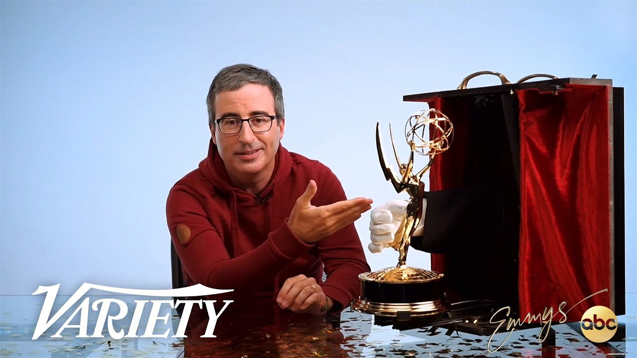 John Oliver Answers If He's Dedicating His Emmy Win to Danbury Connecticut