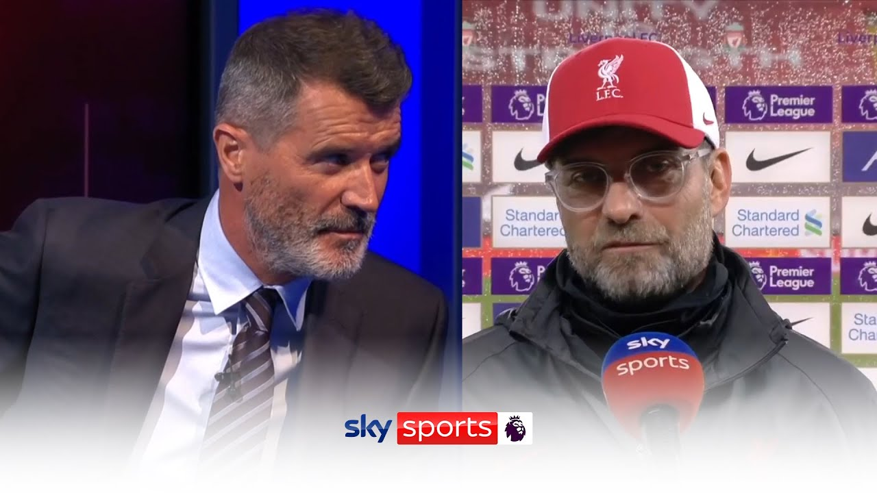 Klopp clashes with Keane in post match interview! ? ? | Post match reaction