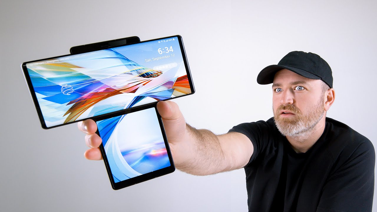LG Wing Unboxing – This Thing is WILD