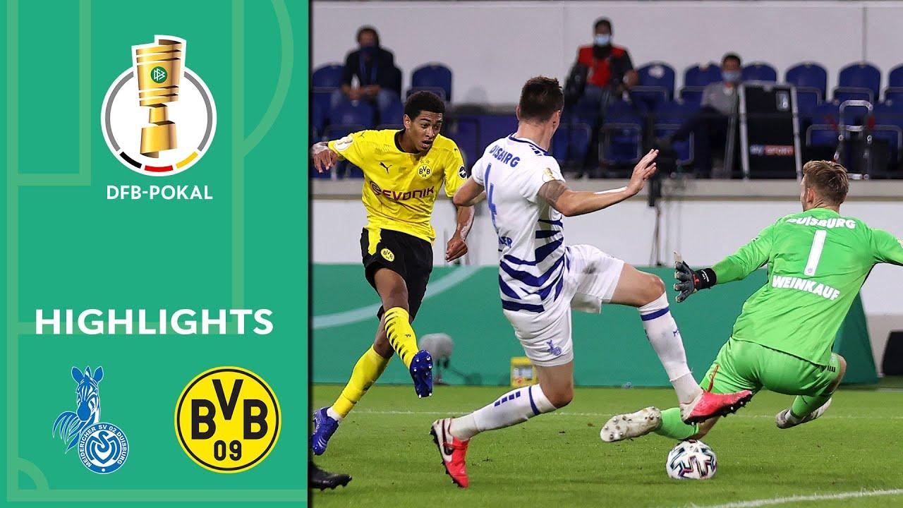 MSV Duisburg vs. Borussia Dortmund 0-5 | Highlights | DFB-Pokal 2020/21 | 1st Round