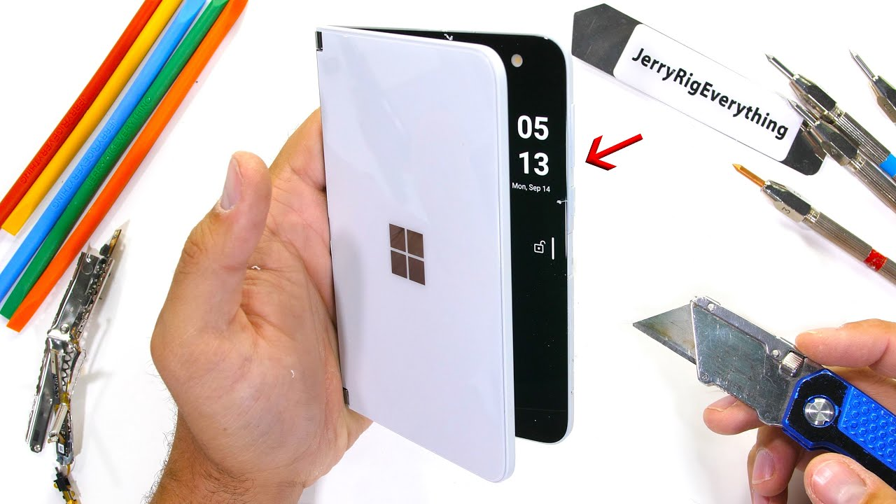 Microsoft Duo Durability Test! – How Thin is too Thin?!