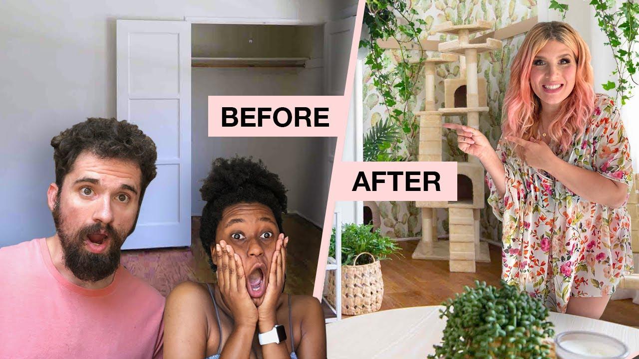 Minimalist Plant-Lovers Apartment Makeover! ?