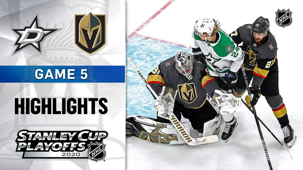 NHL Highlights | WCF, Gm5 Dallas Stars @ Vegas Golden Knights – Sept. 14, 2020