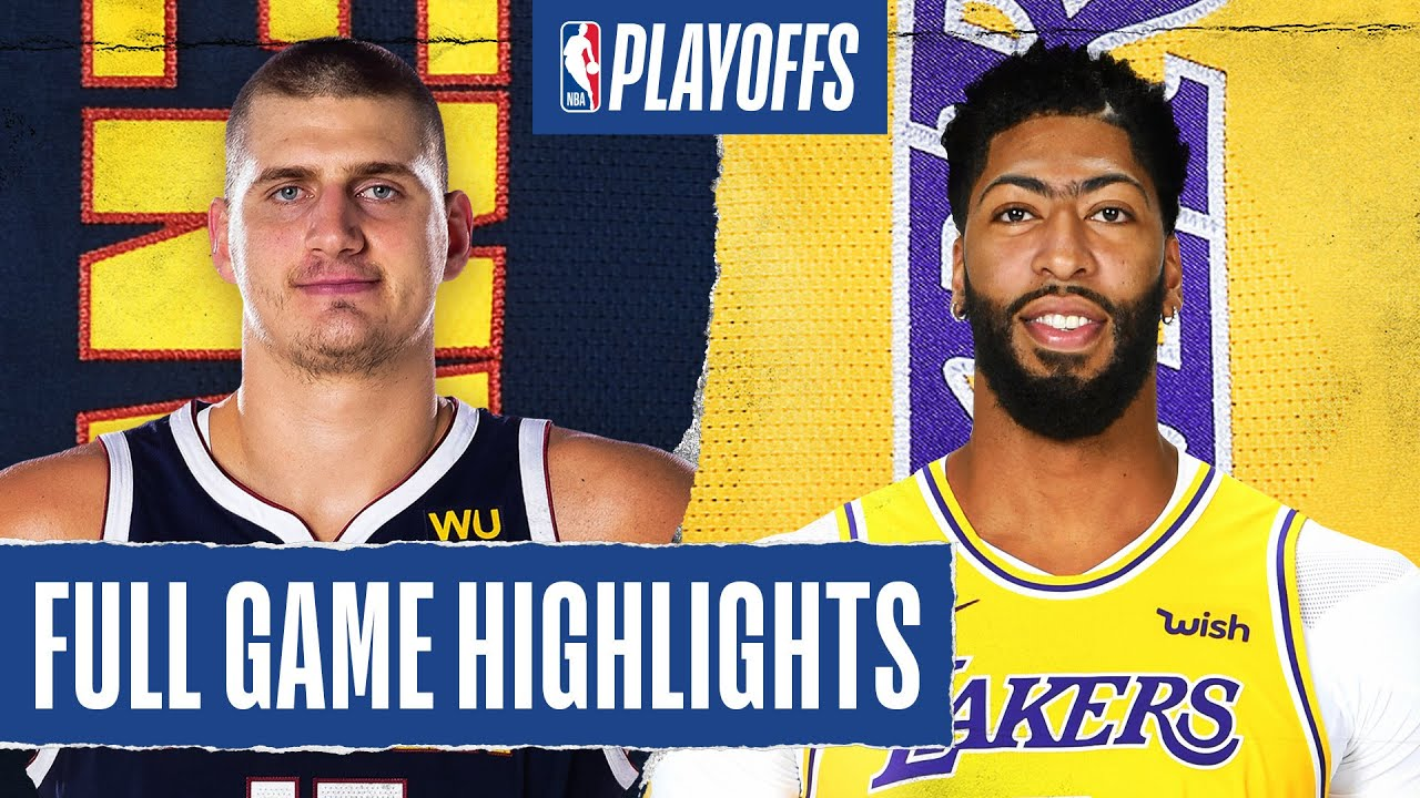 NUGGETS at LAKERS   FULL GAME HIGHLIGHTS   September 20, 2020