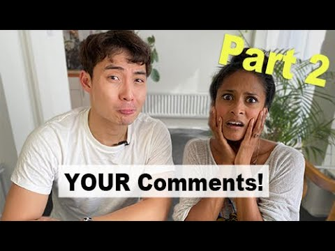 Nigel Ng (Uncle Roger) and Hersha read YOUR Comments – Part Two