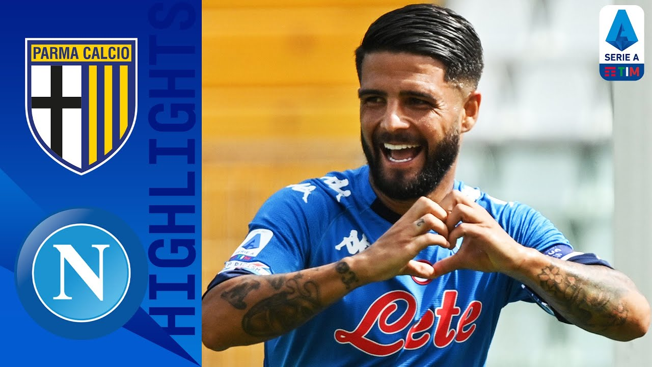 Parma 0-2 Napoli | Mertens and Insigne Seal Winning Start for Napoli as Osimhen Debuts | Serie A TIM
