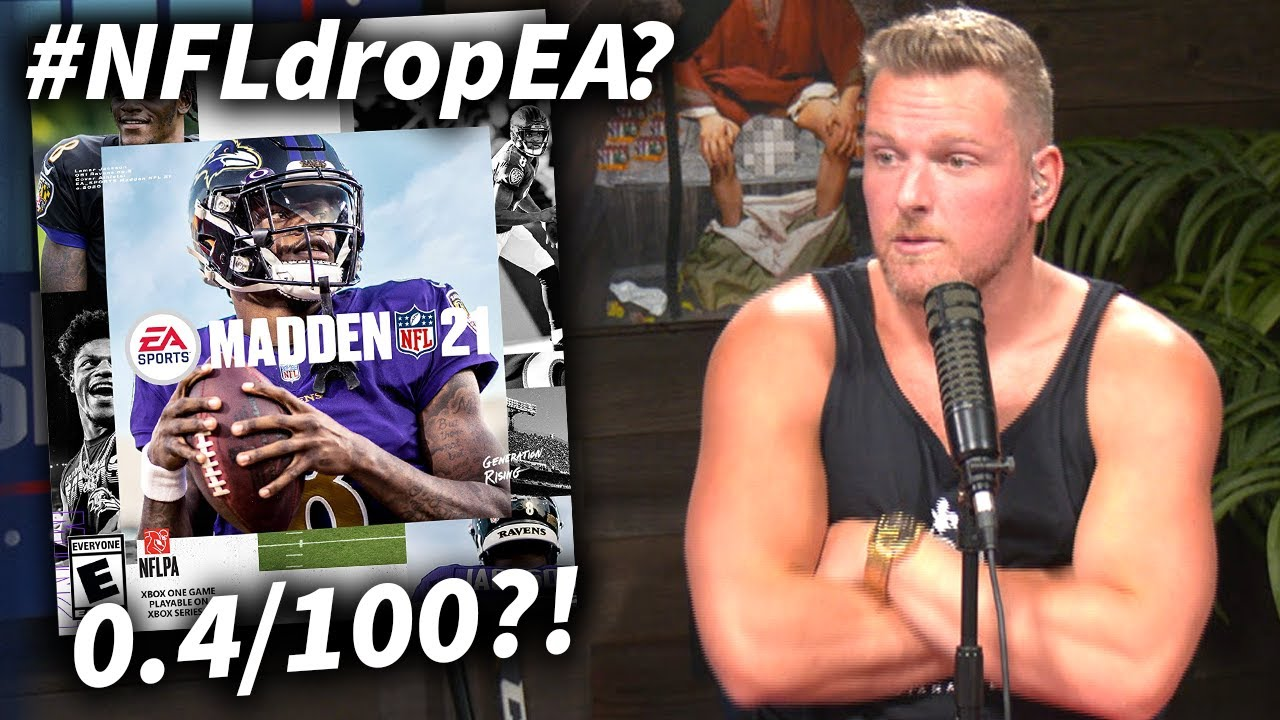 Pat McAfee Reacts To Madden 21's Record Low Reviews & #NFLdropEA