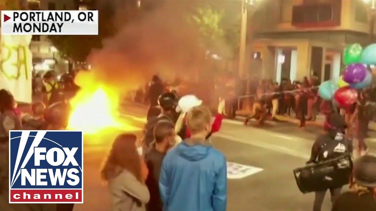 Protesters demand Portland mayor's resignation