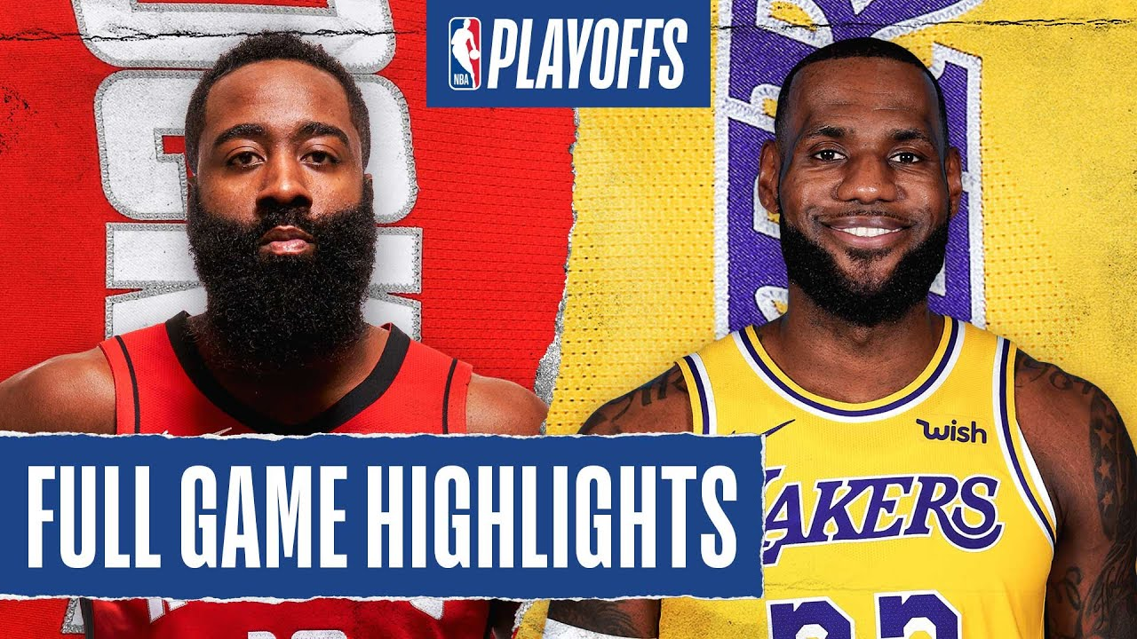 ROCKETS at LAKERS | FULL GAME HIGHLIGHTS | September 6, 2020