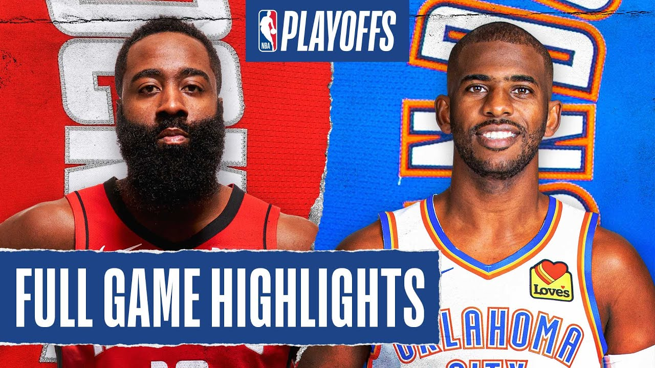 ROCKETS at THUNDER | FULL GAME HIGHLIGHTS | August 31, 2020