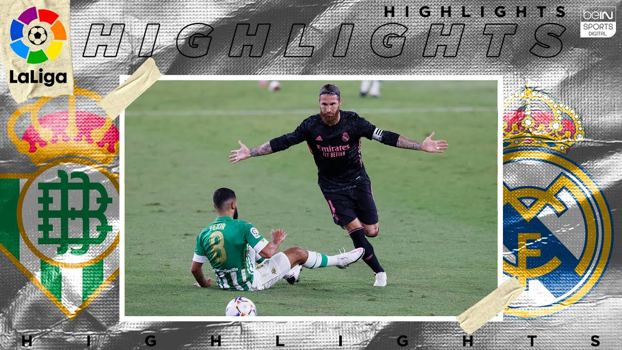 Real Betis 2 – 3 Real Madrid – HIGHLIGHTS & GOALS – (9/26/2020)