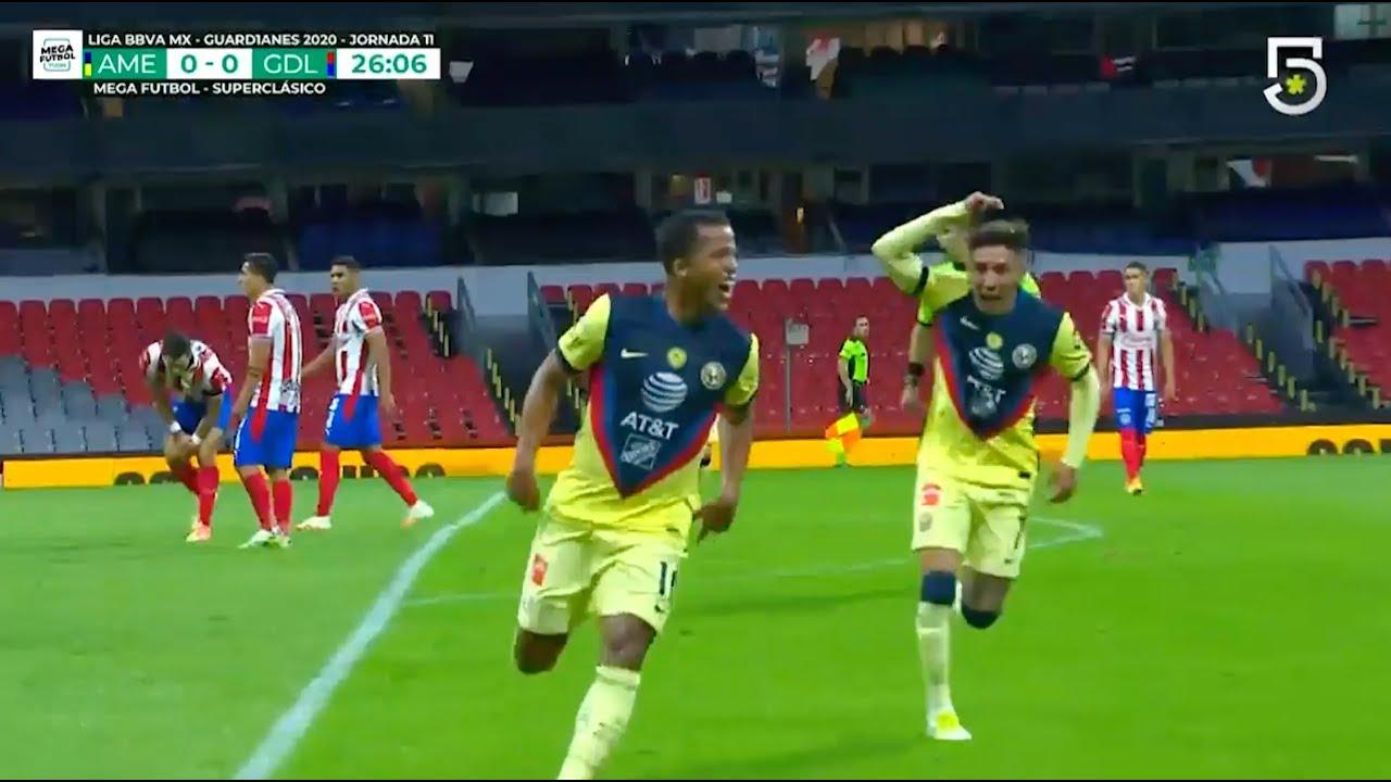 Resumen y goles | América 1-0 Guadalajara | GUARD1ANES 2020