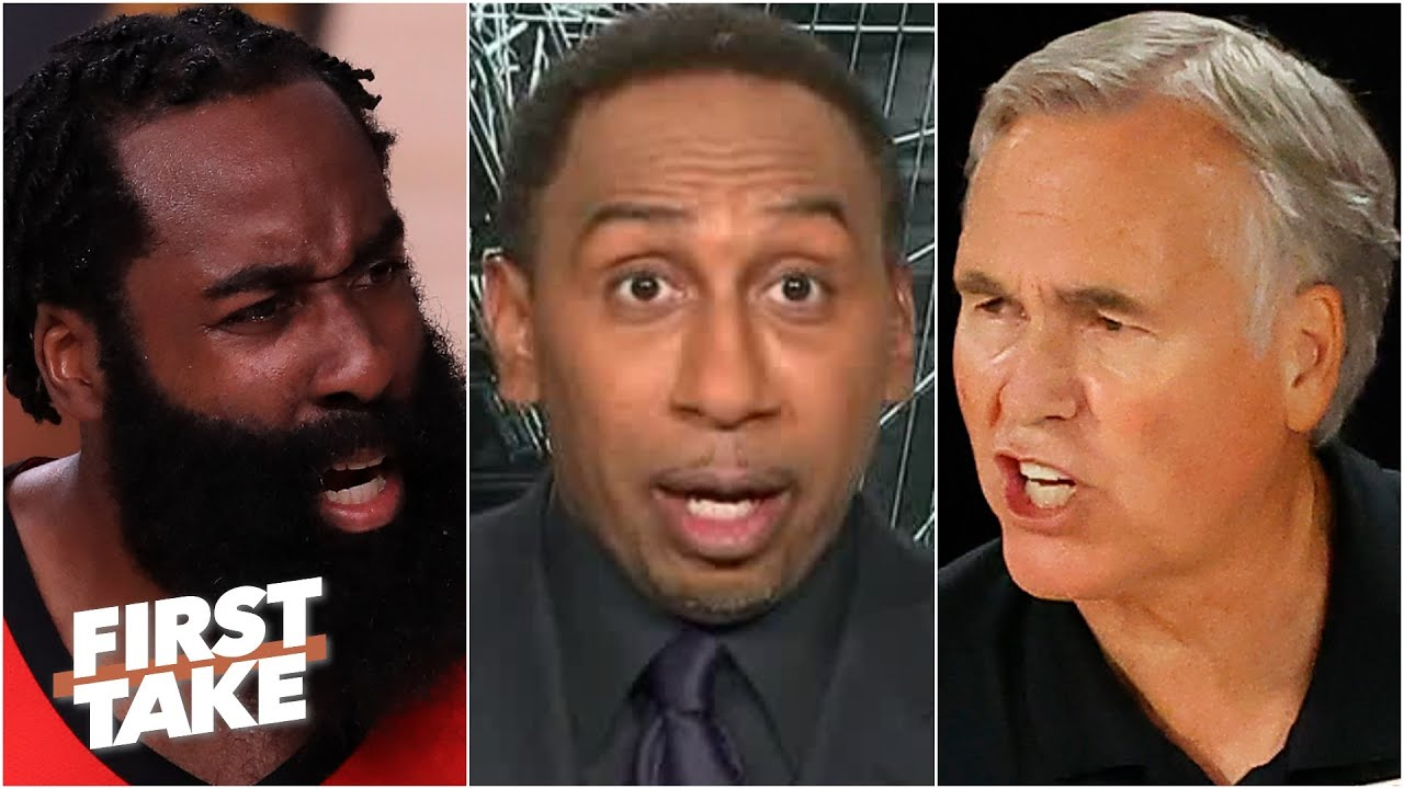 Stephen A. reacts to the Rockets losing Game 6 to OKC: 'D'Antoni, why are you there?'   First Take