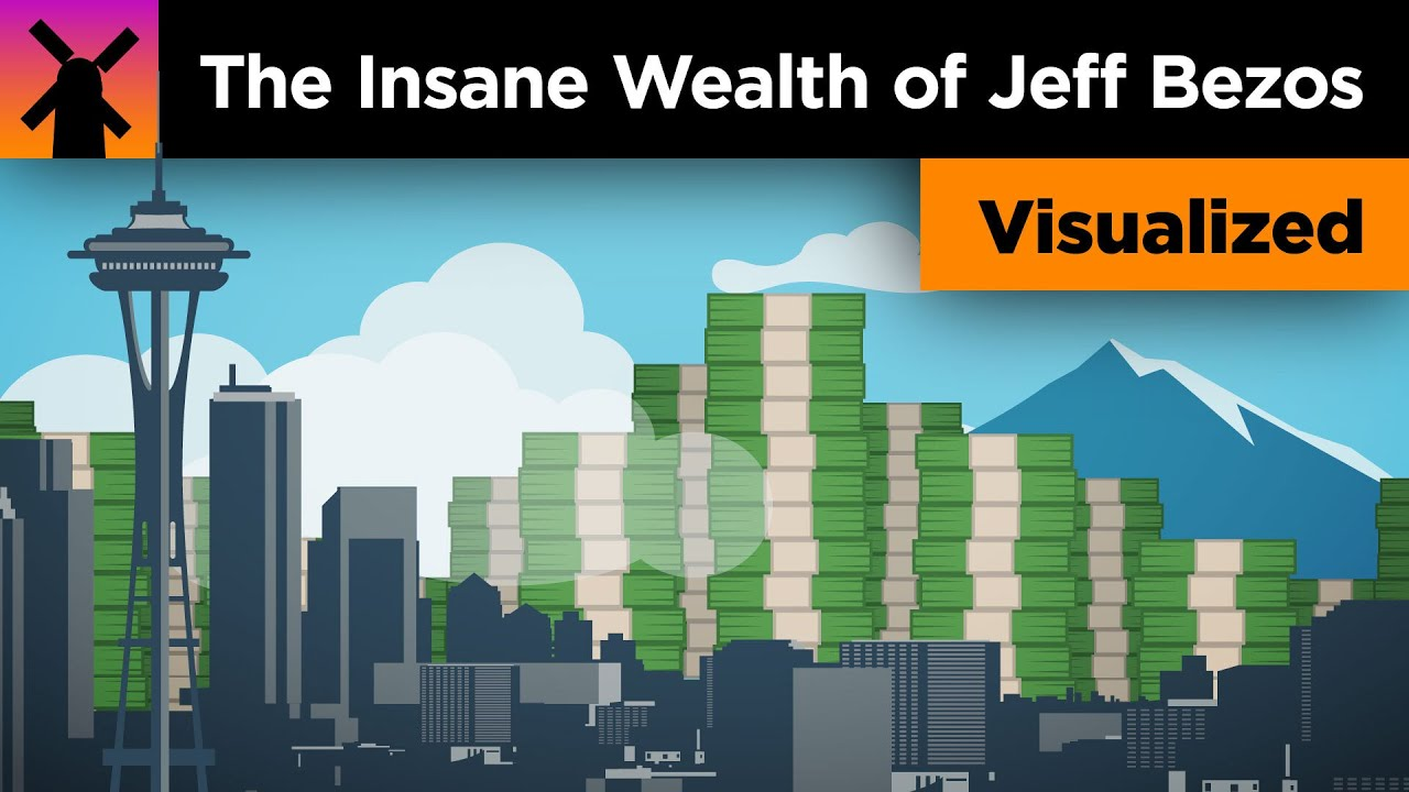 The Insane Scale of Jeff Bezos' Wealth Visualized