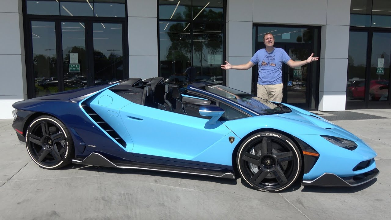 The Lamborghini Centenario Is a $3 Million Ultra-Rare Supercar