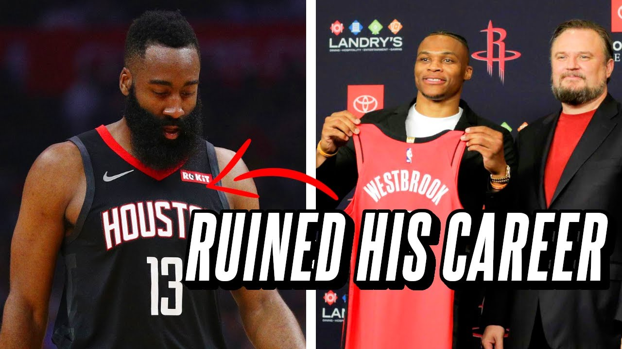 The Men Who Ruined James Harden's Career and Forced The Houston Rockets To Rebuild
