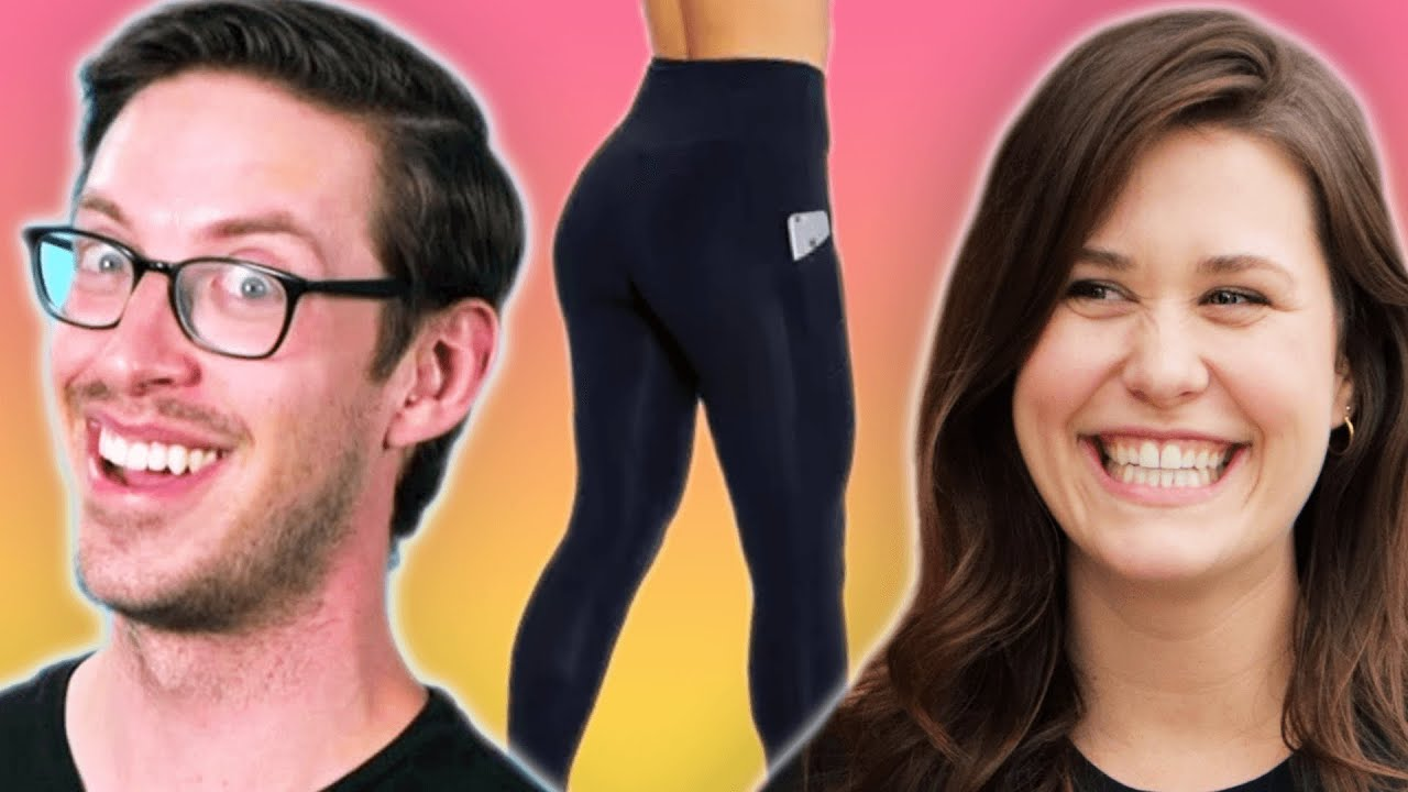 The Try Guys Wear Women's Leggings For A Day
