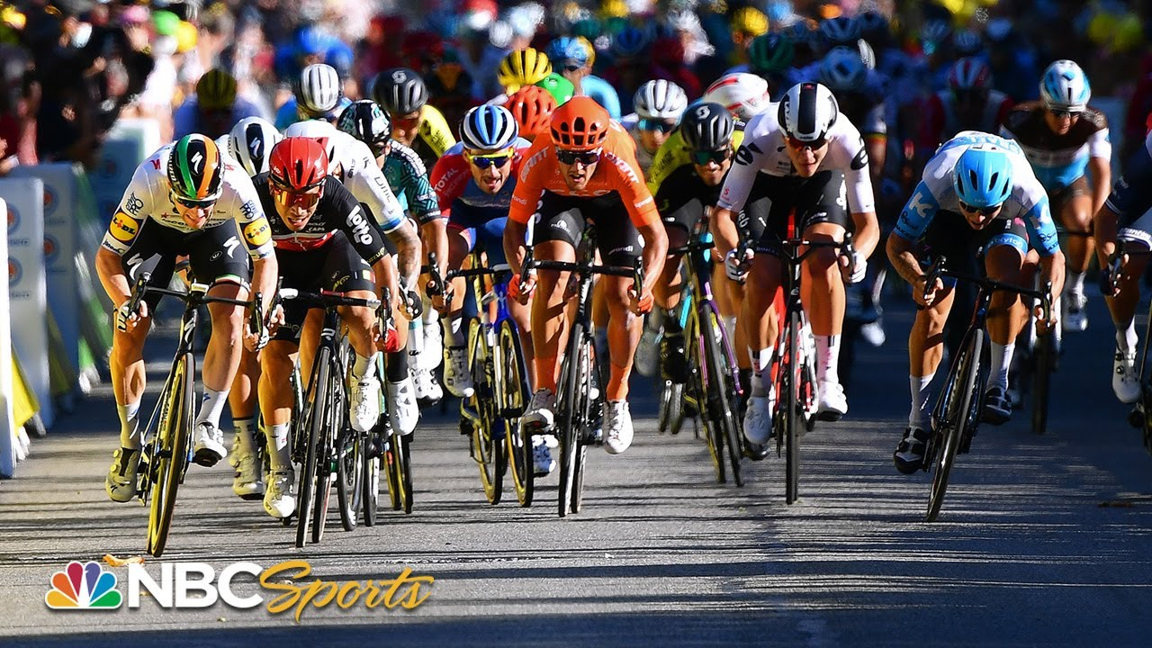 Tour de France 2020: Stage 3 extended highlights | NBC Sports
