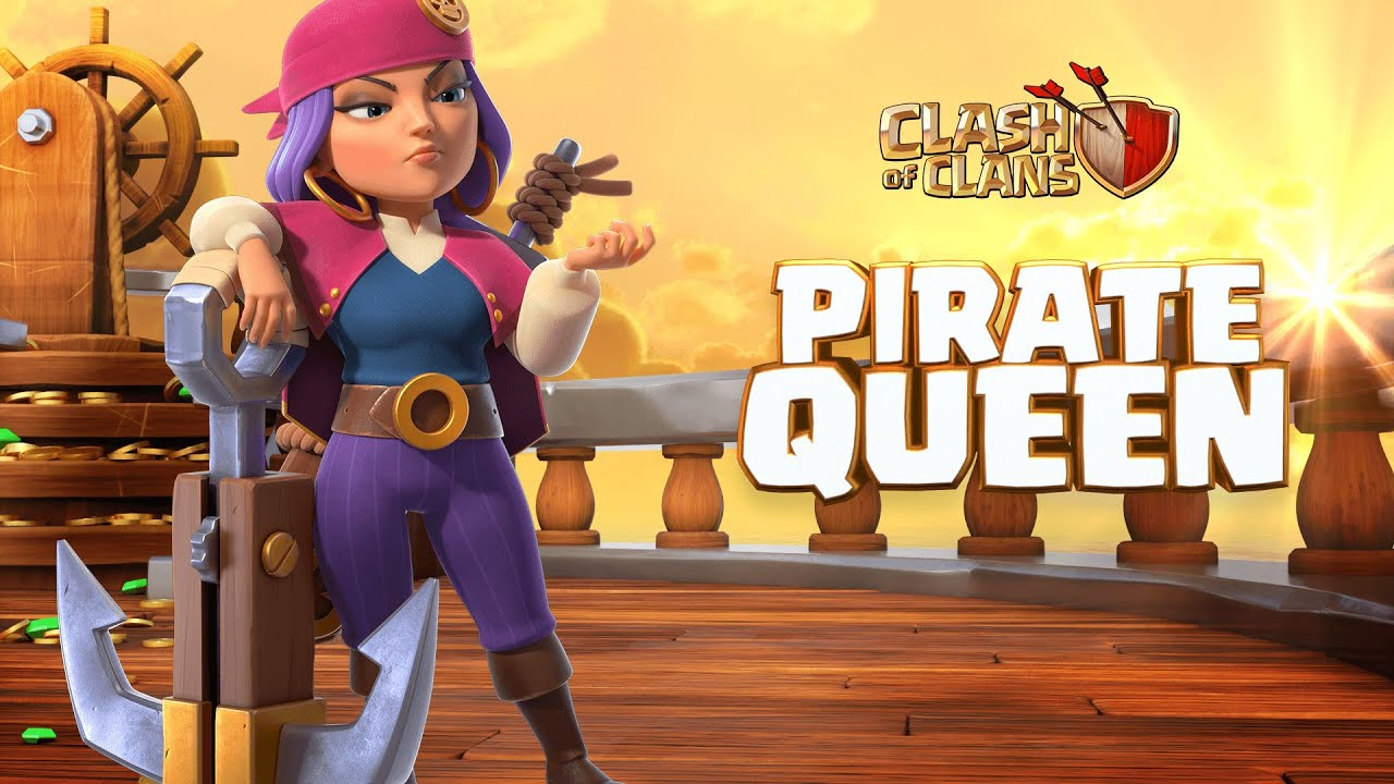 WANTED: Pirate Queen (Clash of Clans Season Challenges)