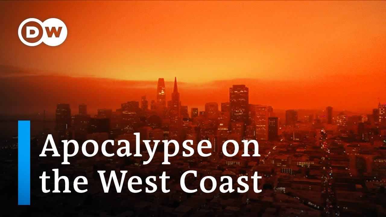 Wildfires on US West Coast turn day into night | DW News
