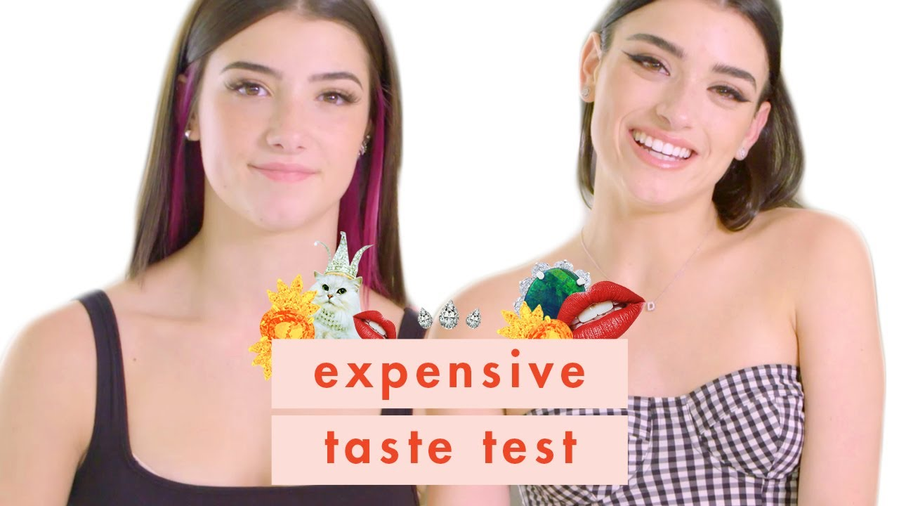 Will Charli & Dixie D'Amelio Have Beef From This Episode of Expensive Taste Test?! | Cosmopolitan