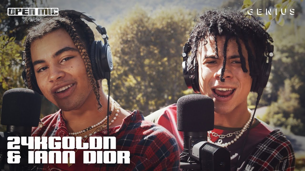 "24kGoldn & iann dior ""Mood"" (Home Performance) | Open Mic"