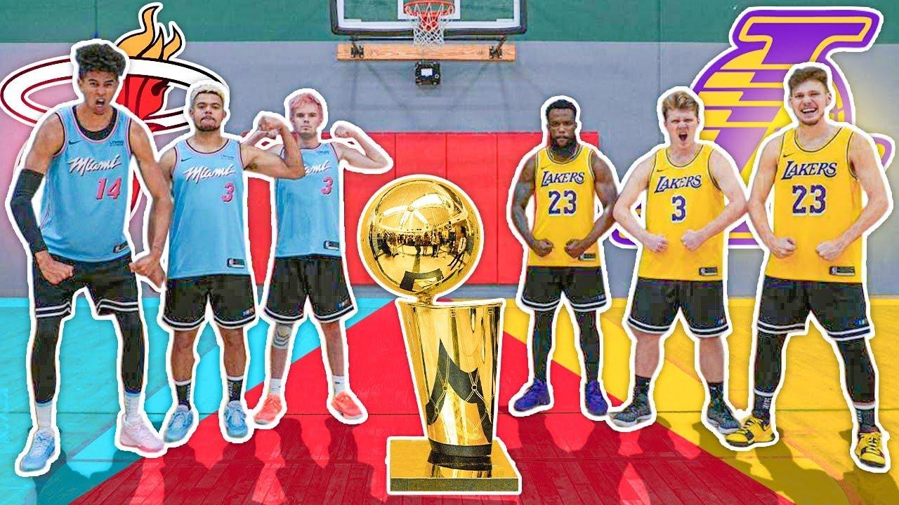 2HYPE Heat vs Lakers NBA Finals Challenges
