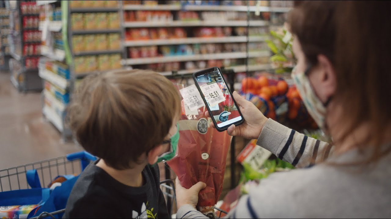 A different kind of membership. Walmart+ | Mobile scan & go