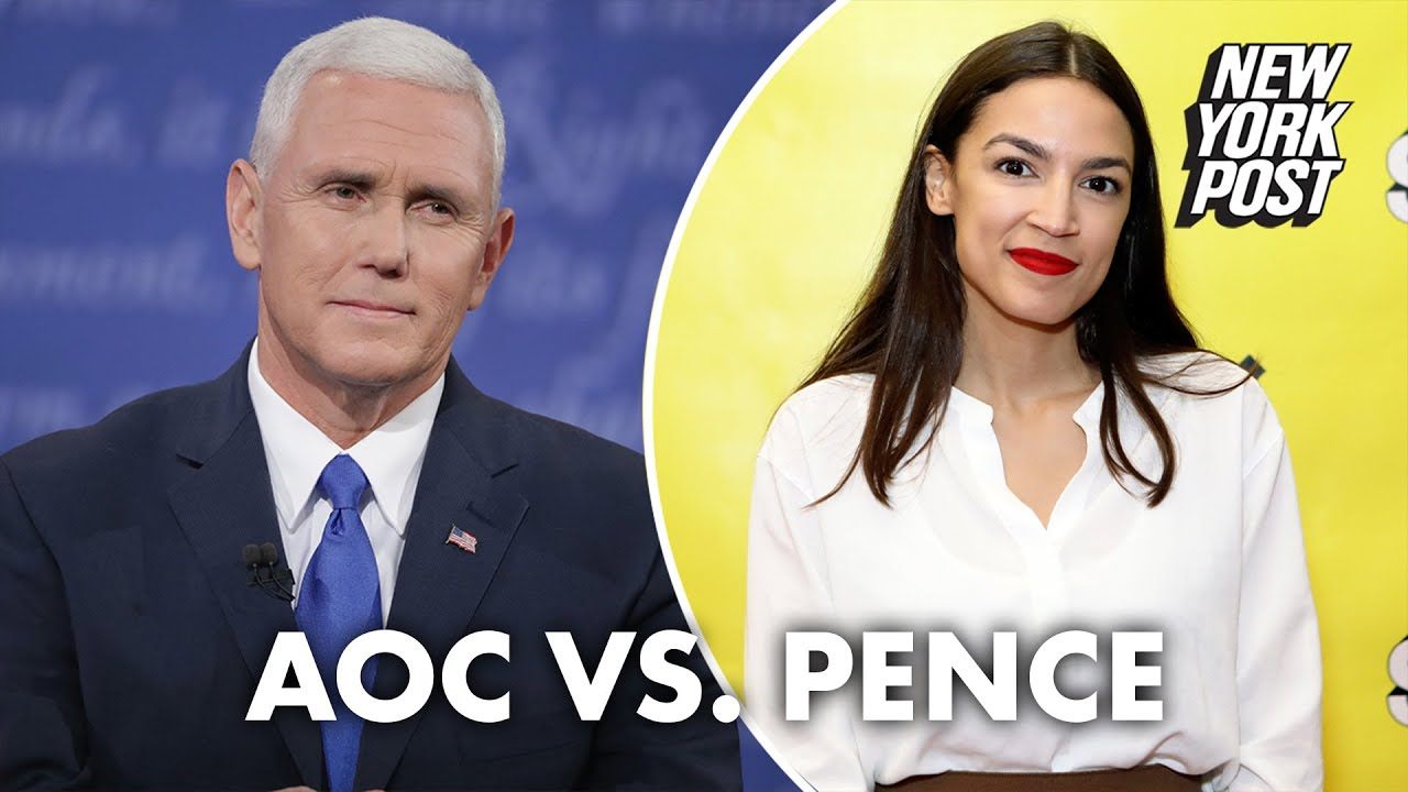 AOC to Mike Pence: 'It's Congresswoman Ocasio-Cortez to you' | New York Post