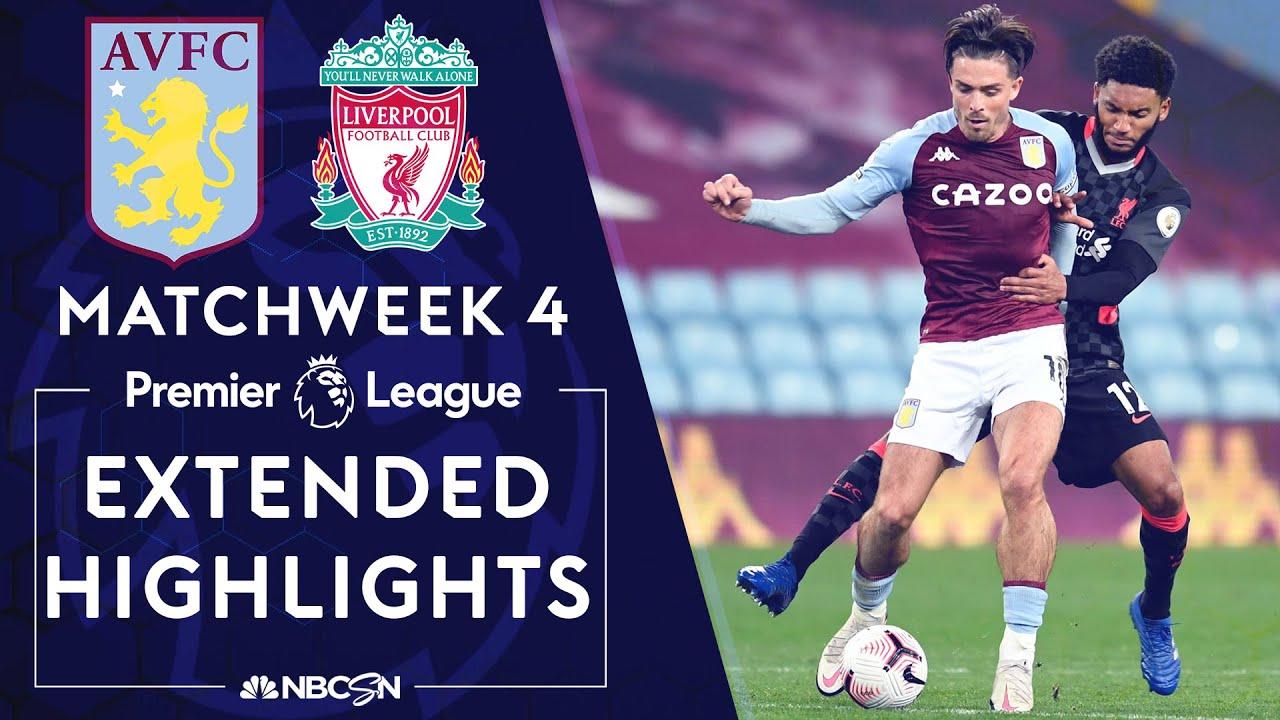 Aston Villa v. Liverpool | PREMIER LEAGUE HIGHLIGHTS | 10/4/2020 | NBC Sports