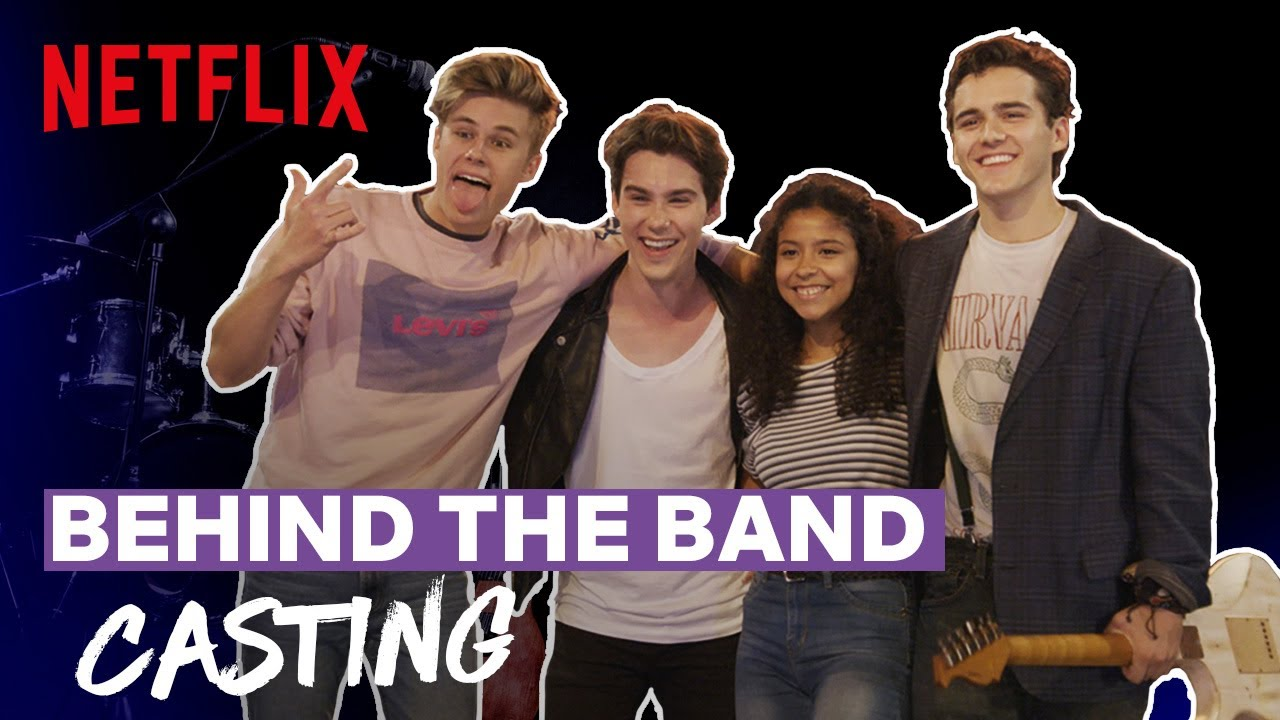 Behind the Band Ep 1: Casting | Julie and the Phantoms | Netflix Futures