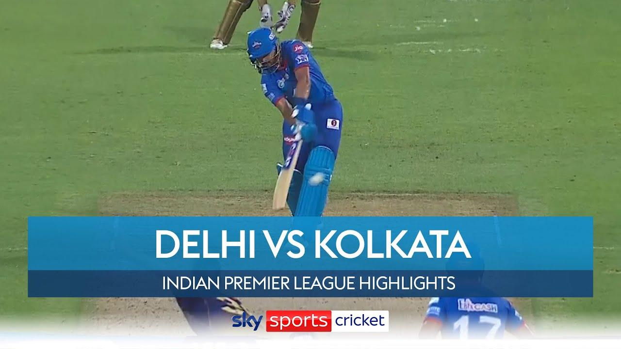 Capitals go top of IPL standings thanks to Iyer's unbeaten 88! | Delhi vs Kolkata | IPL Highlights