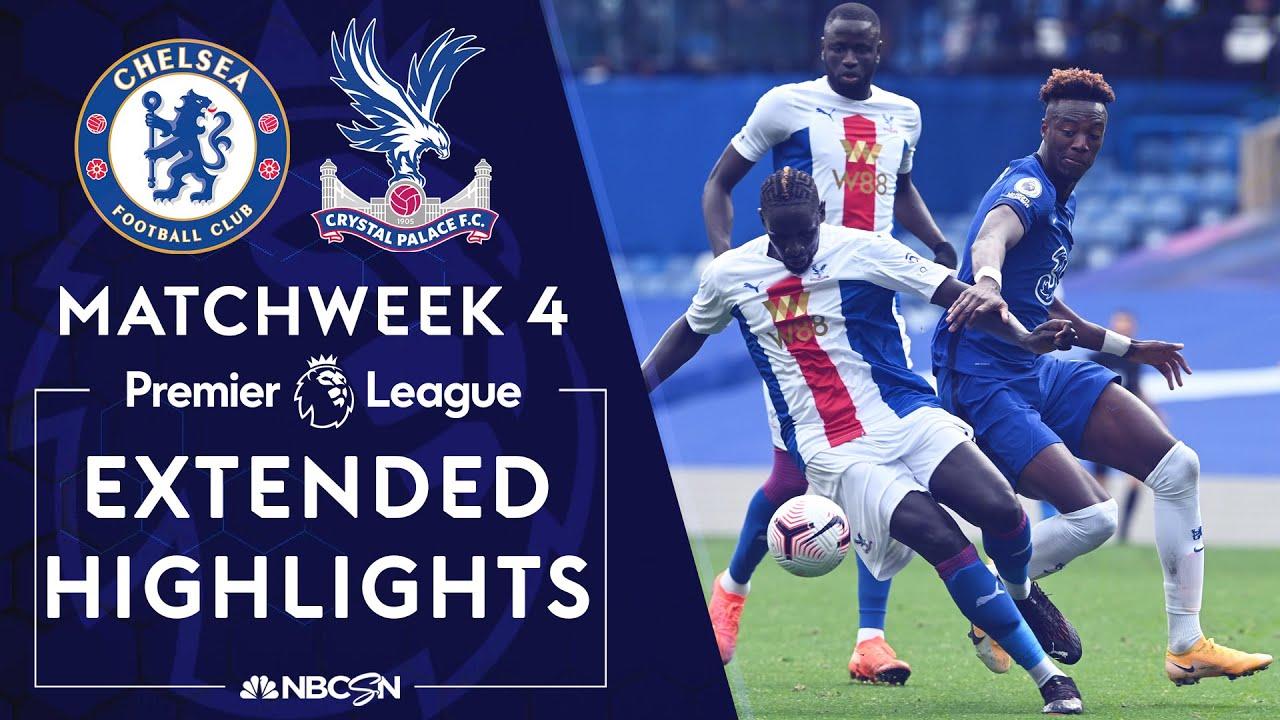 Chelsea v. Crystal Palace | PREMIER LEAGUE HIGHLIGHTS | 10/3/2020 | NBC Sports