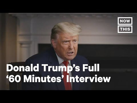 Donald Trump Walks Out on '60 Minutes' — Full Interview | NowThis