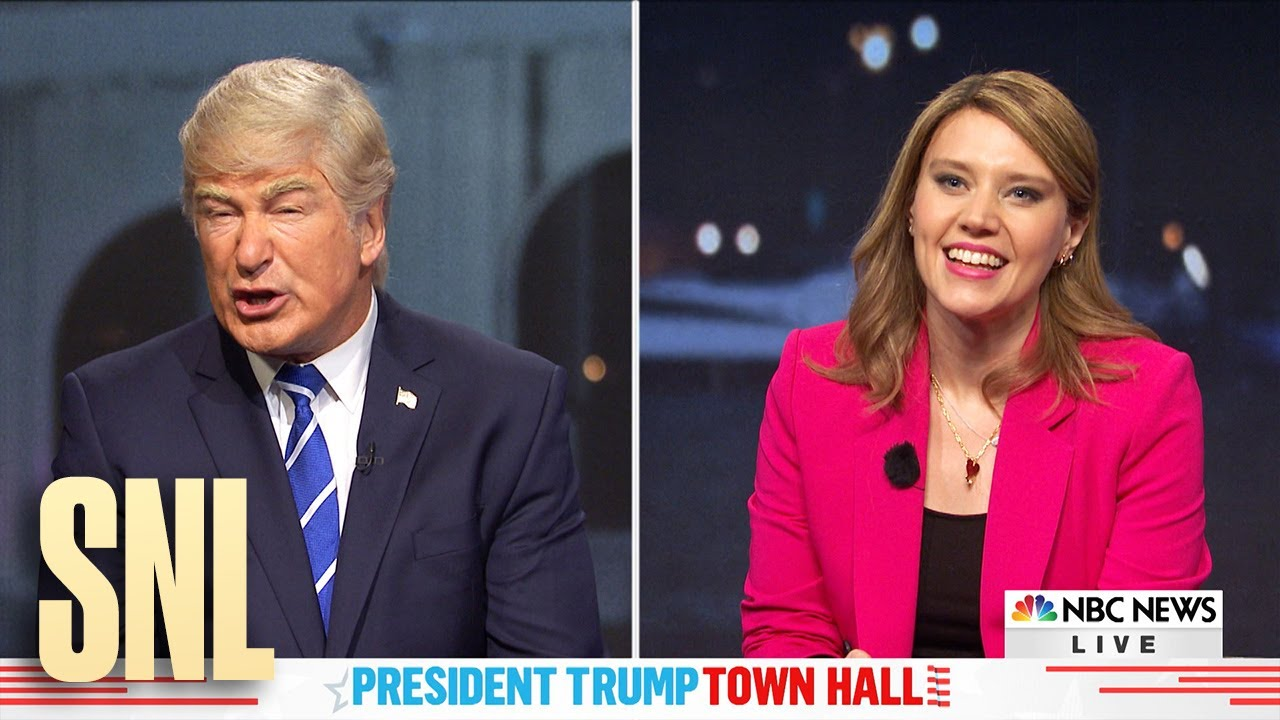 Dueling Town Halls Cold Open – SNL