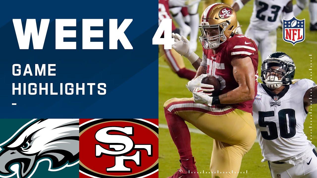 Eagles vs. 49ers Week 4 Highlights | NFL 2020