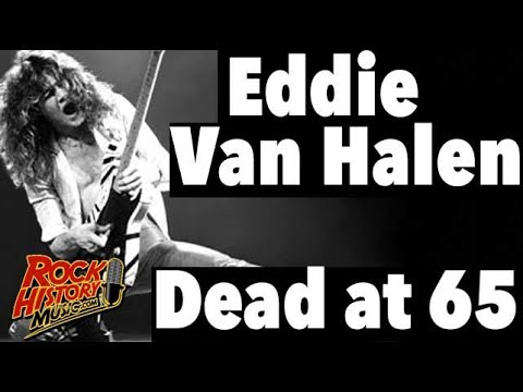Eddie Van Halen Dead at 65 – Our Tribute