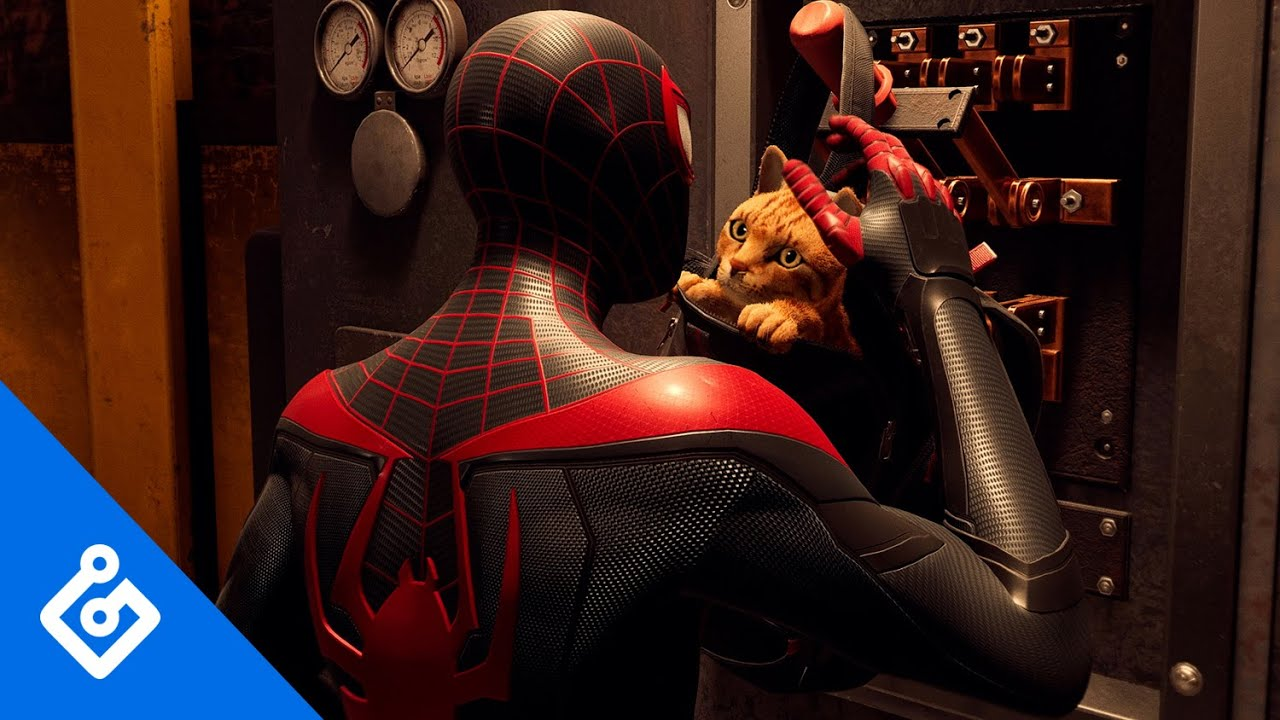 Exclusive Look at Spider-Cat in Spider-Man: Miles Morales (4K)