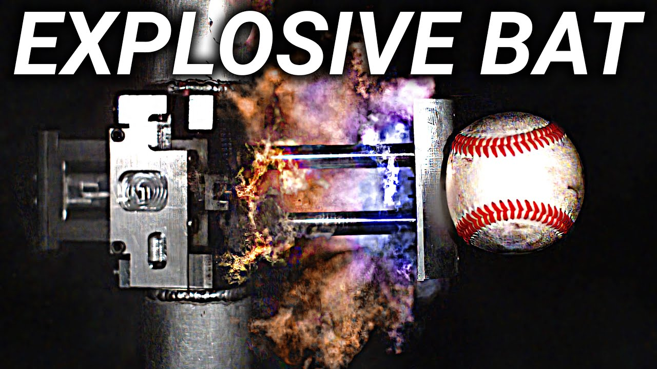 Explosive Bat in Slow Motion Ft. Stuff Made Here – Smarter Every Day 245