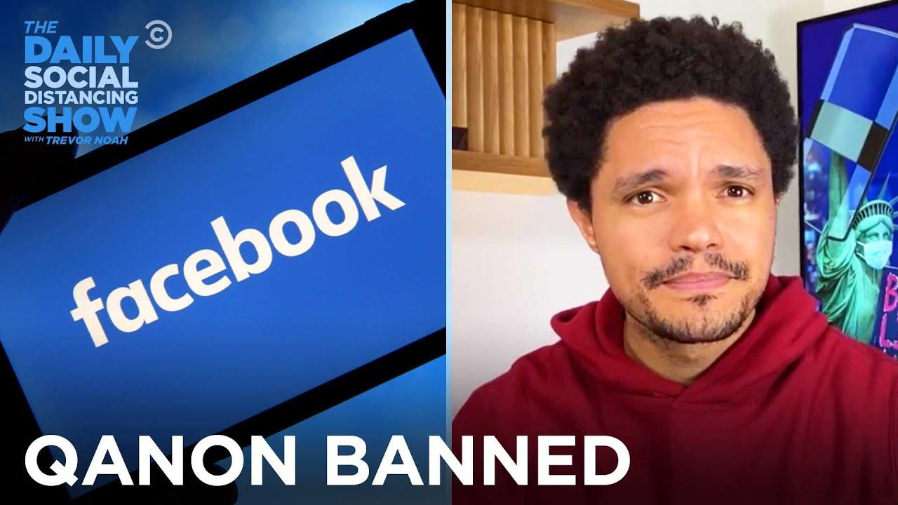 Facebook Bans QAnon & Instagram Hides Negative Comments | The Daily Social Distancing Show