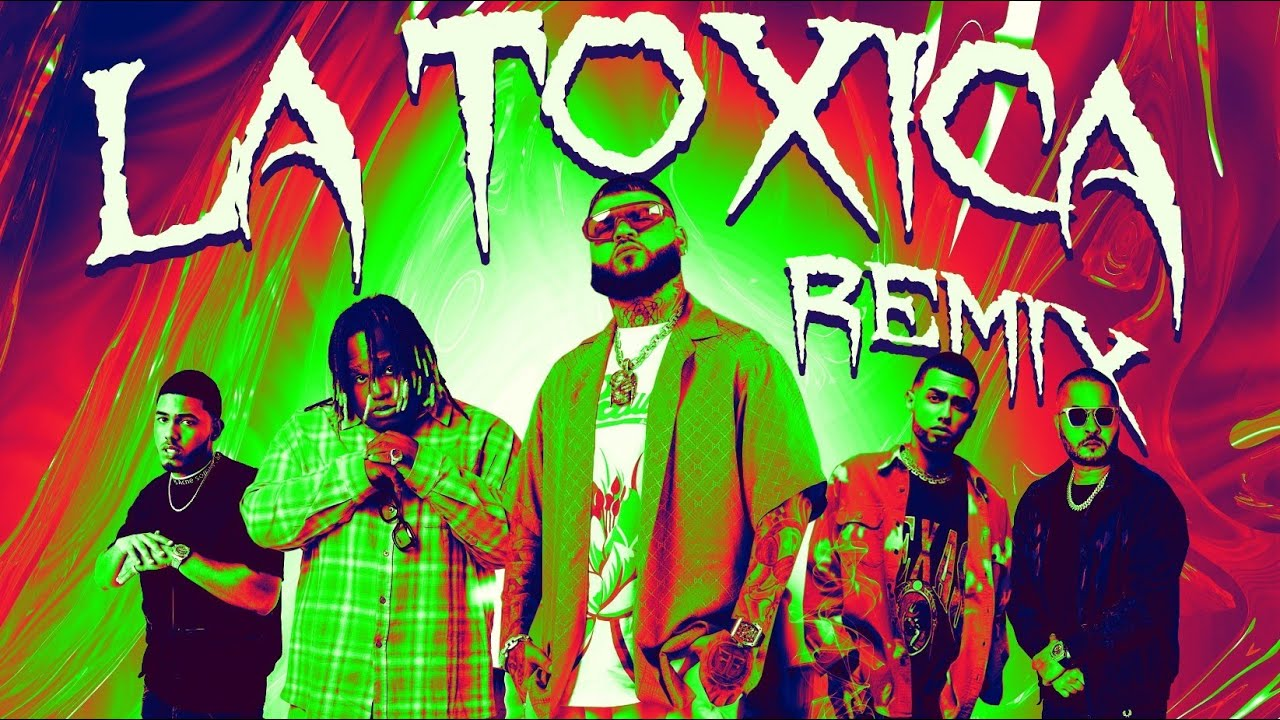 Farruko, Sech, Myke Towers, Jay Wheeler & Tempo – La Toxica (Remix) (Official Lyric Video)