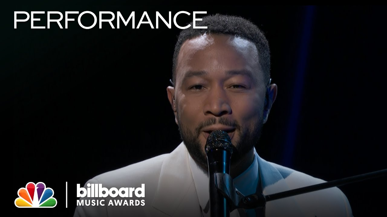 "Feel the Emotion from John Legend at His Piano on ""Never Break"" – The 2020 Billboard Music Awards"