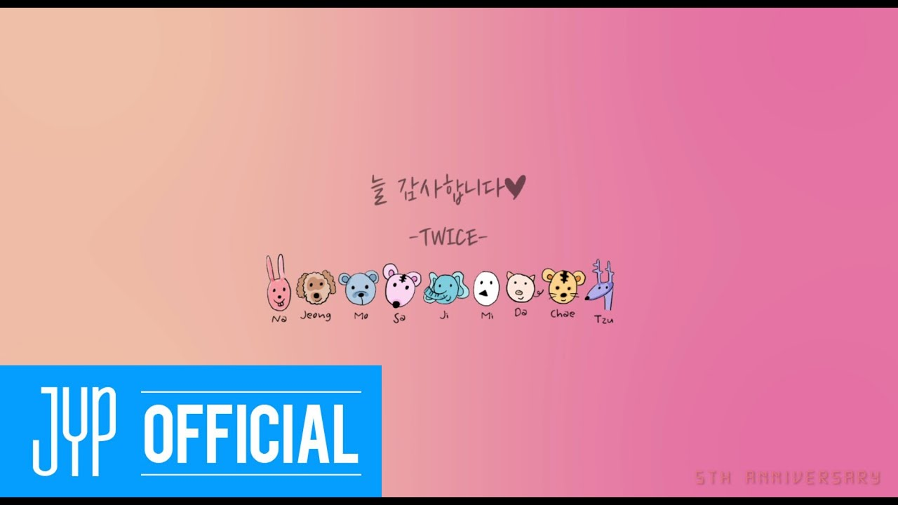 From TWICE, To ONCE